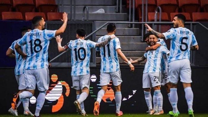 Dua Pemain Inter Milan Cetak Gol Kemenangan Argentina di Kualifikasi Piala Dunia, Messi Redup