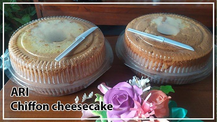 Chiffon Cheesecake Mba Ari, Lembut di Luar Lumer di Dalam