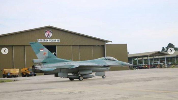 Pesawat Tempur F-16 TNI AU Telah Mendarat di Pekanbaru, dari USAF Segera Menyusul