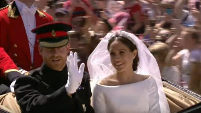 Artis Hollywood, Meghan Markle resmi menjadi bagian dari keluarga Kerajaan Inggris. Setelah mengikat janji, Pangeran Harry dan Meghan Markle resmi menikah di hadapan lebih dari 600 tamu undangan di St. George's Chapel, Windsor Castle, Sabtu (19/5).