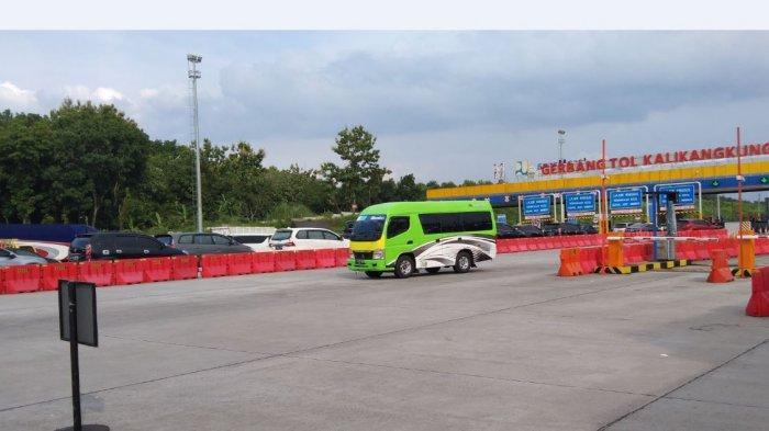 Jumlah Pemudik Dari Arah Jakarta Maupun Sebaliknya di Tol Kalikangkung Meningkat