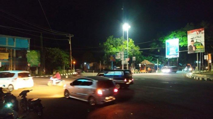 Arus Balik Kendaraan dari Kawasan Wisata di Karanganyar Ramai Lancar