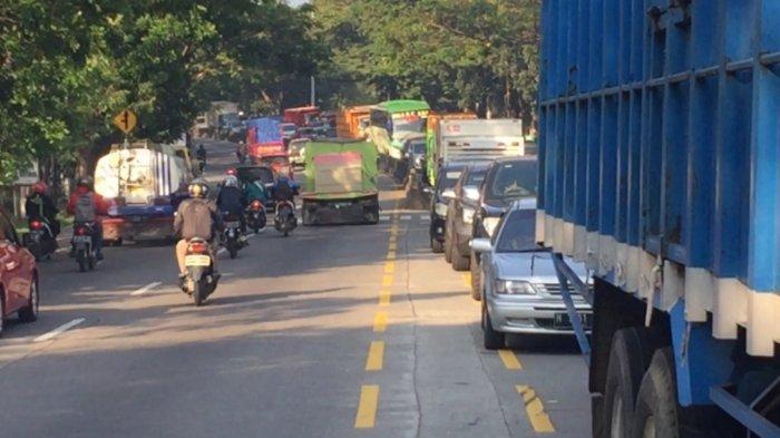 UPDATE, Kepadatan Lalu Lintas di Pudakpayung Semarang Terurai dan Berangsur Lancar