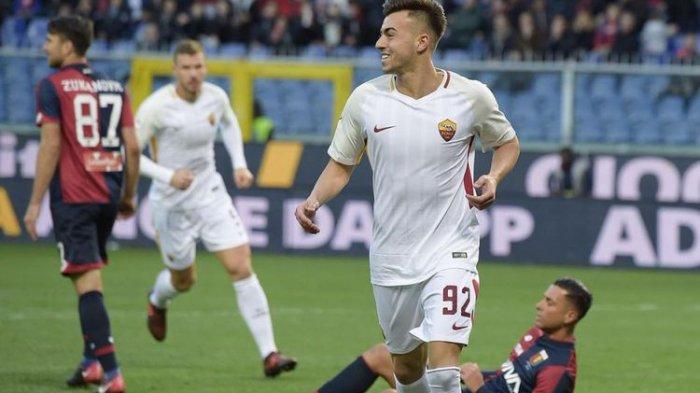 Hasil Liga Italia: Gol Injury Time Shaarawy Bikin Mourinho Girang, AS Roma Petik Poin Penuh