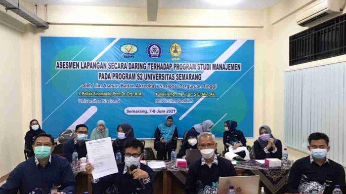 Program Studi S2 Magister Manajemen USM Semarang Lakukan Asesmen Lapangan