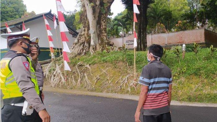 Satlantas Polres Karanganyar Siapkan Pengalihan Arus Saat Pemakaman Mangkunegara IX