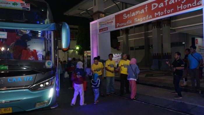 Astra Honda Antar Ribuan Pemudik ke Jateng dan DIY