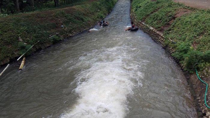 Asyiknya Susuri Saluran Irigasi Sepanjang 450 Meter di Desa Wisata Blimbing Boja
