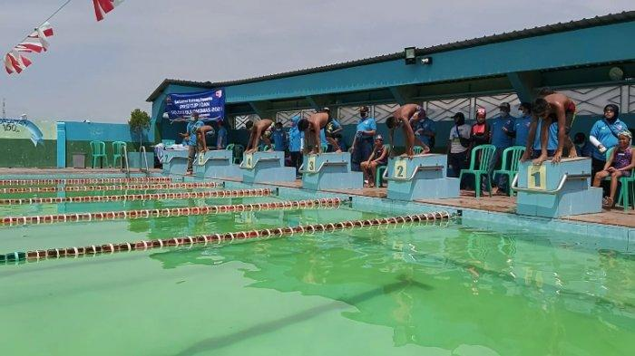 PRSI Pekalongan Seleksi Atlet Dulongmas 2021, Sembilan Klub Renang Turut Berpartisipasi