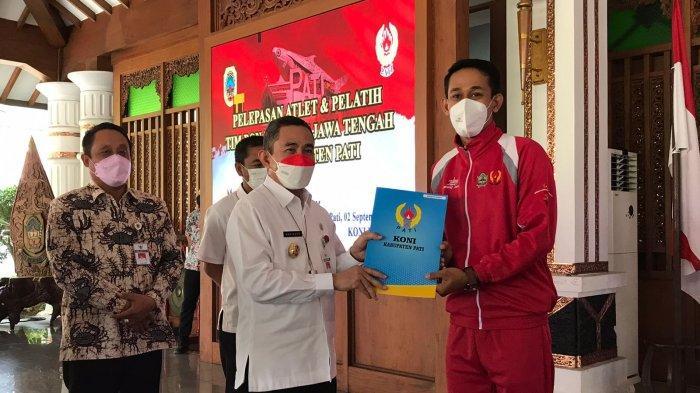 Bupati Pati Haryanto Lepas Keberangkatan Atlet yang Akan Berlaga di PON Papua