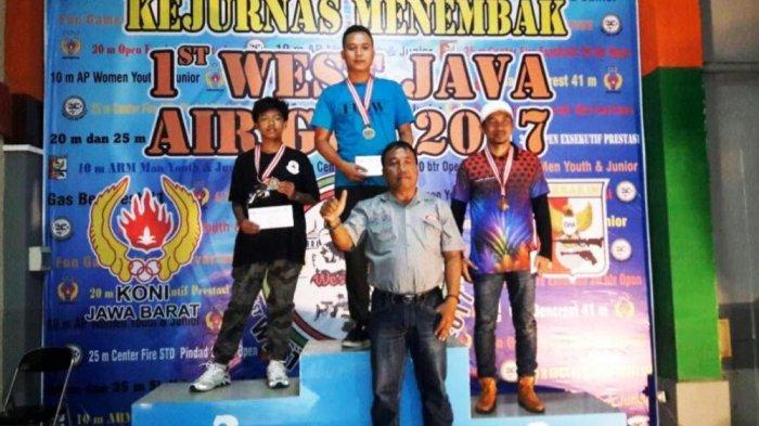 Atlet Muda Purbalingga Ini Raih Dua Medali di Kejurnas Menembak