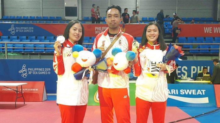Polwan Polres Jepara Turut Sumbang Perak untuk Indonesia Pada Sea Games 2019 Filipina