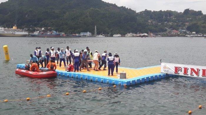 Gagal, 2 Atlet Selam Laut PON Papua 2021 Bali & Sulsel Ditandu hingga Diberi Oksigen
