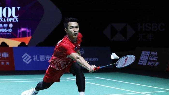 Jonatan Christie Gagal Sumbang Poin, Indonesia Tertinggal 1-2 dari Kanada