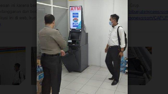 Pembobol Mesin ATM Indomaret Syuhada Terekam CCTV, Polisi Juga Temukan Sidik Jari Pelaku