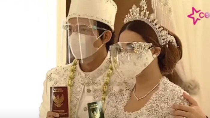 Atta Halilintar dan Aurel Hermansyah Sah Menikah Jadi Suami Istri