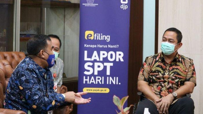 Wali Kota dan Wakil Wali Kota Semarang Dorong Pelaporan SPT Melalui E-Filing