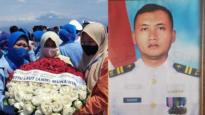 Ungkapan Kesedihan Aura Putri Letda TNI AL Munawir Kru KRI Nanggala: Bangga Papa Prajurit Setia