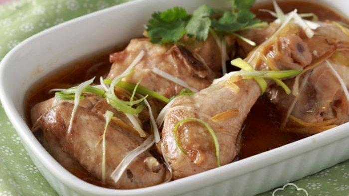 Menu Diet Hari Ini, Ayam Kukus Jahe yang Sehat dan Kaya Rempah, Lezat hingga ke Tulang