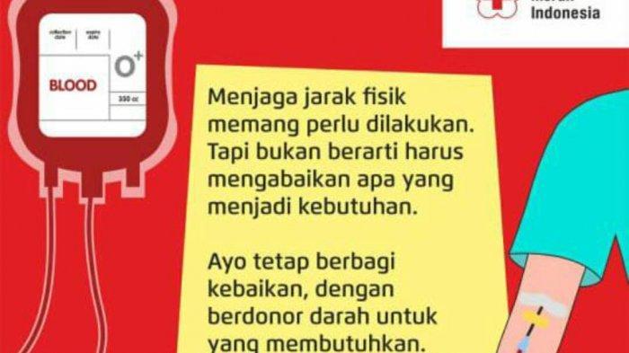 Stok Darah PMI Kota Semarang Minggu 14 Juni 2020, Subtotal 2 Komponen Darah Menipis