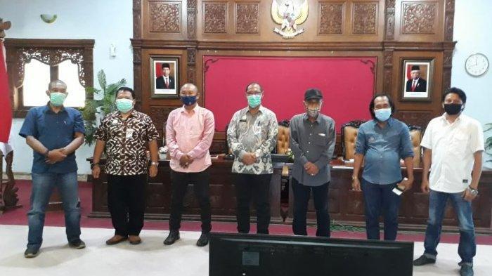 Para anggota Babinsa Batang.