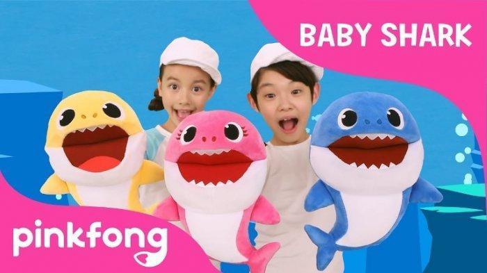 Not Angka Pianika Lagu Anak-Anak Baby Shark