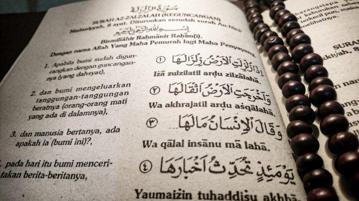 Surat Al Zalzalah Lengkap Arab Latin dan Artinya
