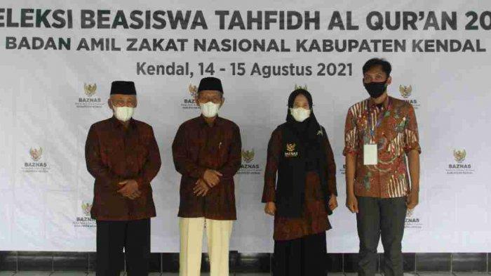 Baznas Kendal Gelar Seleksi Beasiswa Tahfidz Al Quran, Diikuti 167 Santri Putra dan Putri