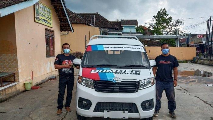 Badan Usaha Milik Desa (BUMDes) Kebonan Mandiri, Kecamatan Karanggede, Kabupaten Boyolali memiliki mobil operasional yang tak dimiliki Desa lainnya di Indonesia.
