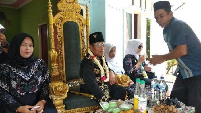 Baginda Sultan Iskandar Jamaluddin Firdaus, pemimpin Kerajaan Angling Dharma Pandeglang.