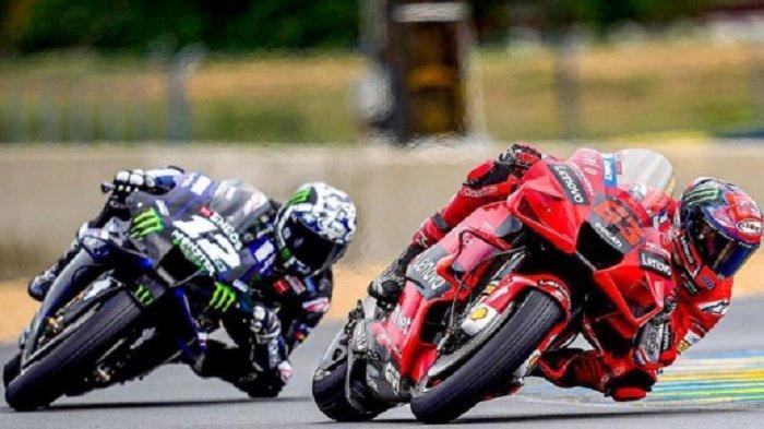 Hasil MotoGP San Marino 2021, Bagnaia Naik Podium Lagi, Rossi Masih Finis di Buntut