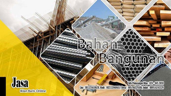 Info Biro Jasa Bangunan, Arsitek, Sedot WC, Laundry, Servis di Semarang, Senin 5 April 2021