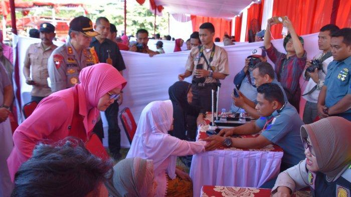 HUT Ke-73 Bhayangkara, Kapolda Jateng Terjun Langsung Pimpin Bakti Sosial di Kabupaten Demak