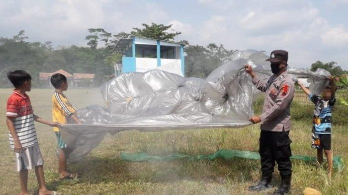 Polisi Minta Warga Pekalongan Tak Nakal Terbangkan Balon Udara Dipasangi Petasan