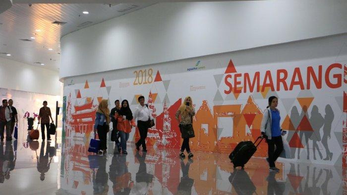 Foto-foto Megahnya Terminal Baru Bandara Ahmad Yani Semarang yang Bikin Penumpang Berdecak Kagum