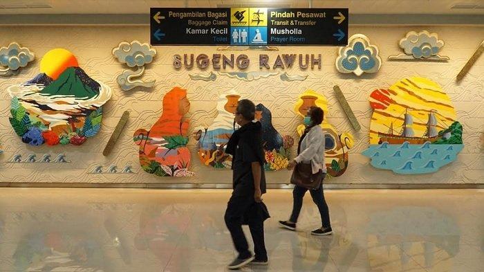 Jumlah TKI yang Mudik Melalui Bandara Ahmad Yani Semarang Meningkat