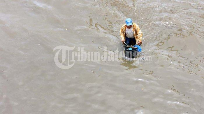 Kantor Kecamatan Genuk Semarang Kebanjiran, Sementara Pindah ke Kelurahan Bangetayu Wetan
