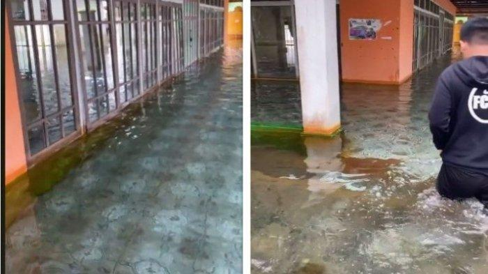 Viral Banjir Air Jernih di Barito Kuala Kalsel, Netizen:Ingin Berenang dan Jadi Mermaid