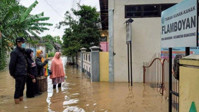 40 Sekolah di Kendal Terdampak Banjir dan Longsor