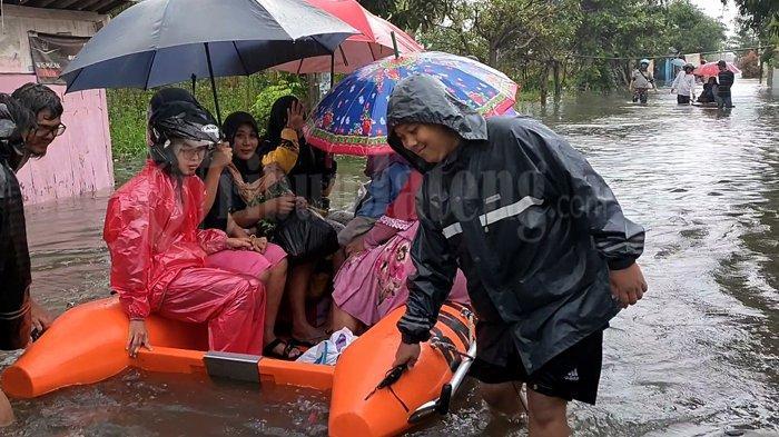 Berikut Data 16 Titik Pengungsi Banjir Kota Pekalongan