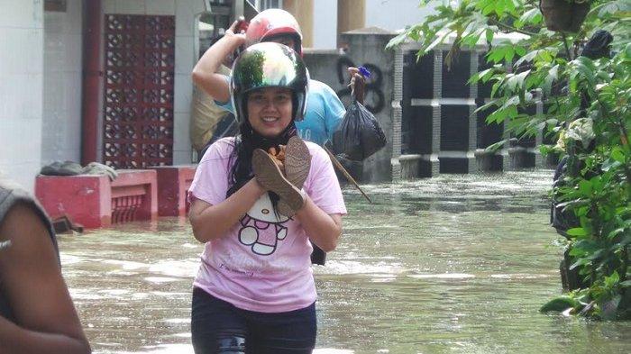 Tanggul Jebol, Rumah Warga di Dua Kelurahan Kota Tegal Kebanjiran