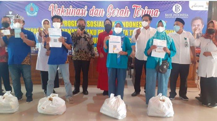 Pelaku Usaha Wisata di Brebes Dapat Bantuan Sembako dari KPw Bank Indonesia Tegal