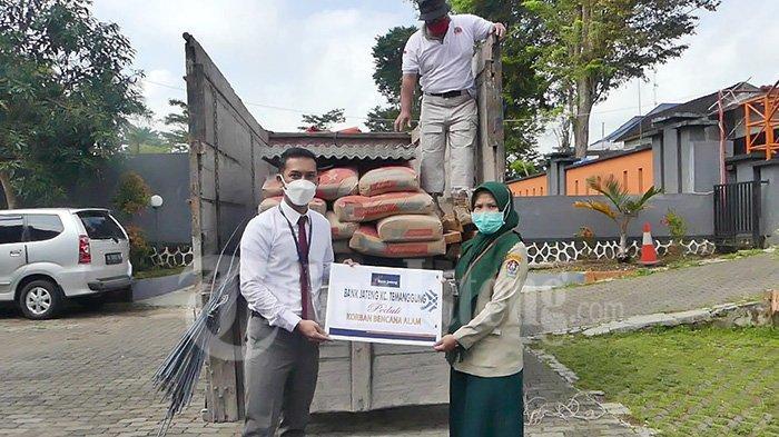 3 Korban Longsor dan Kebakaran Temanggung Dapat Bantuan Material Rp 10 Juta Bank Jateng