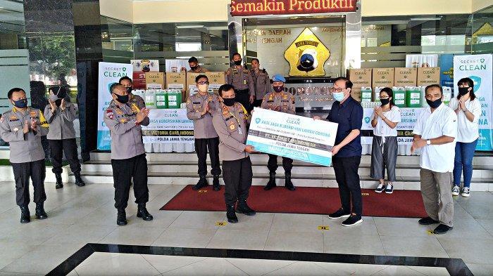 Polda Jateng Terima Bantuan 800 Liter Hand Sanitizer, Irjen Ahmad Luthfi: Ini Bentuk Ikatan Sosial