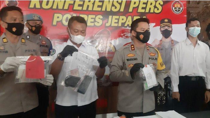 Dua Pengedar Sabu-sabu di Jepara Dibekuk Polisi