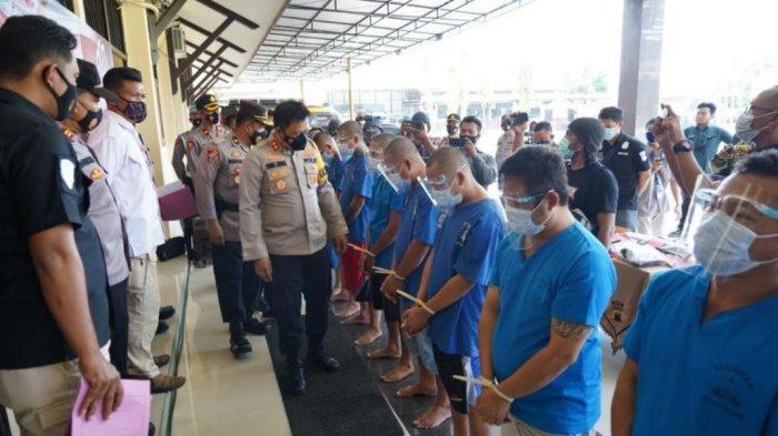 Operasi Antik Candi 2021, Satresnarkoba Polres Batang Berhasil Tangkap 9 Tersangka