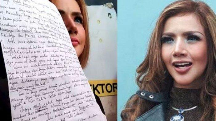 Tak Tertangkap Kamera, Barbie Kumalasari Buang Surat Galih Ginanjar, Ini yang Membuatnya Kesal