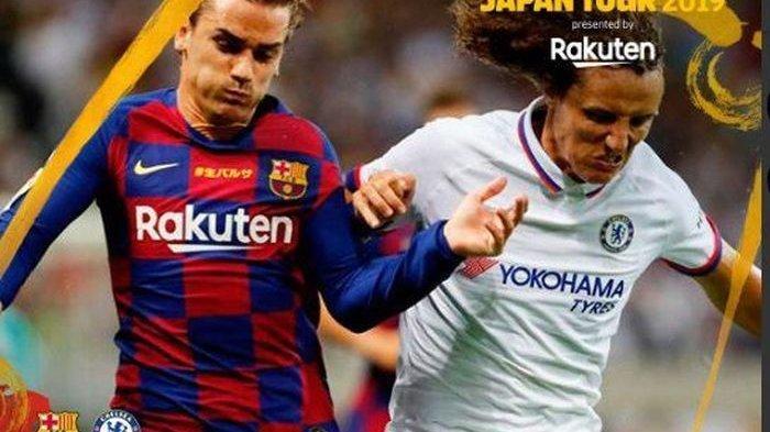 Barcelona Kalah Tipis dari Chelsea di Rakuten Cup, Griezmann Dianggap Belum Efektif