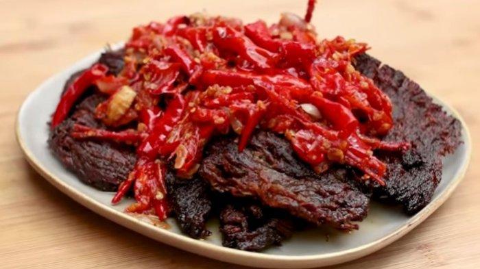 Resep Dendeng Batokok Balado Kuliner Nikmat Khas Padang