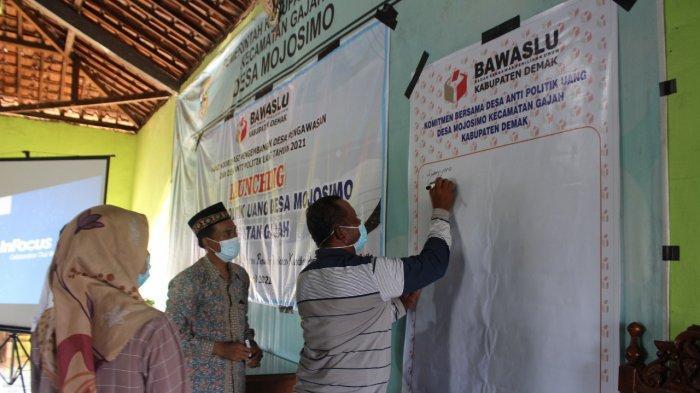 Bawaslu Demak Canangkan Desa Anti Politik Uang